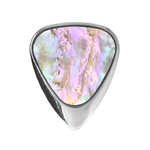 Inlay Tones Mini Greenlip Abalone 1 Guitar Pick
